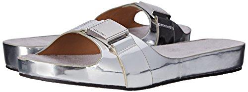 Calvin Klein Marlie Femmes Synthétique Sandale silver