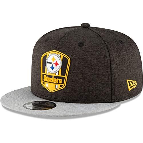 New Era Herren Snapback Caps NFL Pittsburgh Steelers 9 Fifty schwarz S/M