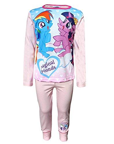 My Little Pony Pyjamas pjs Nachtwäsche Alter von 4 bis 10 Jahre (Mlp-pyjama)