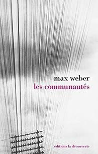 Les communautés par Max Weber
