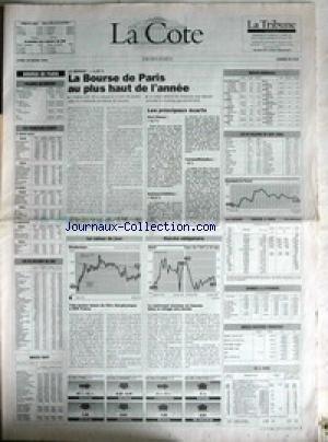 COTE (LA) du 29/03/1993