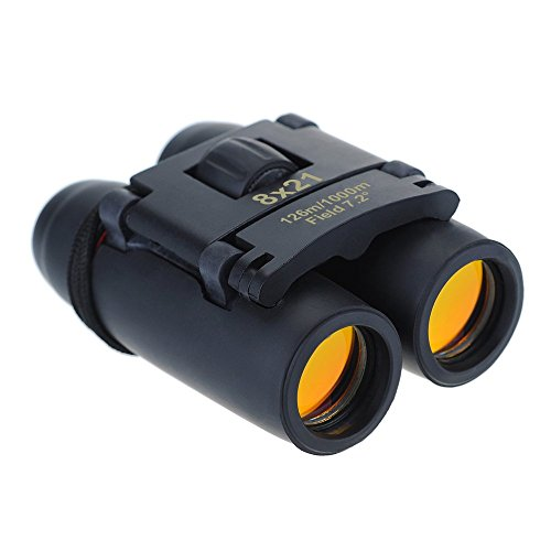 8-x-21-Zoom-Mini-Binoculares-Pictek-Prismticos-Plegables-Incluye-Bolsa-de-Transporte-y-Pao-de-Limpieza