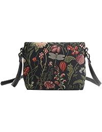 Bolso tapiz de hombro de moda Signare para mujer bolso de mano en bandolera bolso messenger Floral