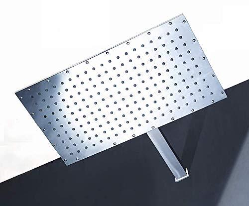 grande Doccione Soffione doccia cromato 50x28 cm ugelli anticalcare
