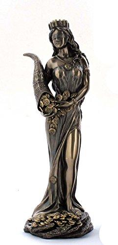 Fortuna Figur Veronese Glücksgöttin Frauenfigur 20 cm WU75416A4 Palazzo Exklusiv