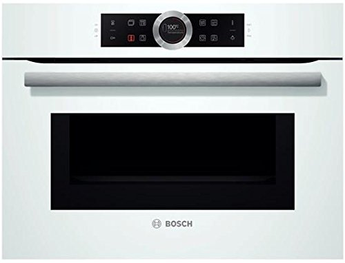 Bosch CMG633BW1 - Horno (Medio, Horno eléctrico, 45 L, 45 L, Blanco,...