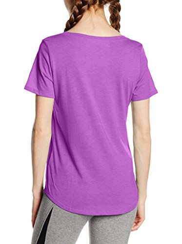 NIKE T-shirt Scoop photo JDI Violet - Cosmic Violett/Weiß/Schwarz
