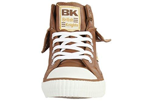 British Knights ROCO BK men trainer Sneaker B34-3736-17 chesnut Chesnut