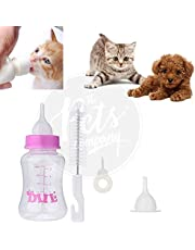 The Pets Company Puppy Kitten Nursing and Milk Feeding Bottle Set, Cat, Dog and Baby Animals