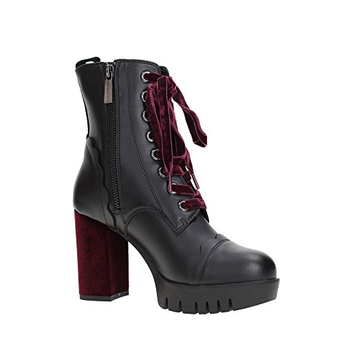 Fornarina Bea, Chaussures Avec Plate-forme Femme Noir