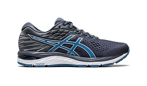 ASICS Men's Gel-Cumulus 21 Running Shoe Jackrabbit Exclusive - Color: Metropolis/Grey (Regular Width) - Size: 10
