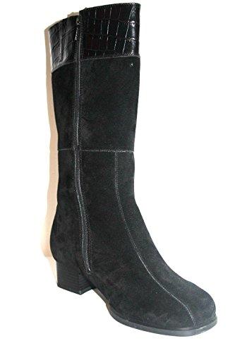 Solidus 580988 973 0001 Mary Damen Stiefel Weite K Schwarz ( schwarz )
