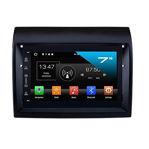TAFFIO® FIAT Ducato Autoradio Android 8.1 Touchscreen Navigation DVD Bluetooth USB WiFi SD 4GB + 32GB