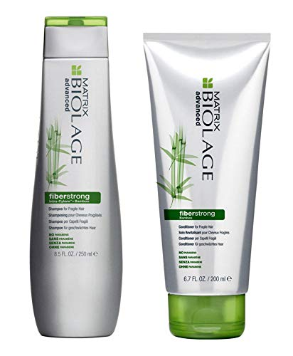 MATRIX BIOLAGE ADVANCED FIBERSTRONG SHAMPOO 250ML & CONDITIONER 200ML
