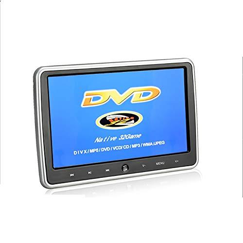 KBKG821 10,1 Zoll-Auto-DVD-Player, ultradünne HD Kopfstütze Typ Auto-Display-Monitor in Rücksitz Auto-Entertainment-System für Kinder mit HDMI USB SD