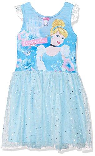 Disney Mädchen Kleid Princess Dresses, Blau (Blue 16-4530 TC) 5 ()