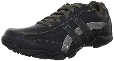 Skechers Men's Diameter Blake Shoes - Black/Grey, 5.5 UK (39 EU)