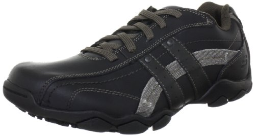 Skechers Men's Diameter Blake Shoes - Black/Grey, 9 UK (43 EU)