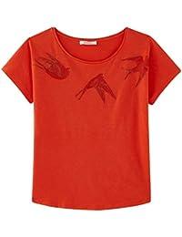 Promod T-Shirt mit Stickerei