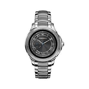 Emporio Armani Vyrams Digital Smart Laikrodis Rankinis Laikrodis mit Edelstahl Armband ART5010