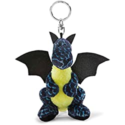NICI - Dragón de hielo, colección BB, 10 cm, color negro y azul (40769)