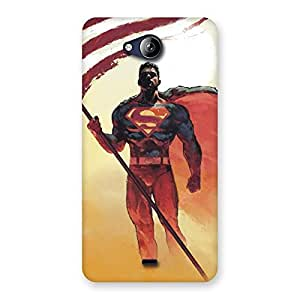 Cute US Day Flag Multicolor Back Case Cover for Canvas Play Q355