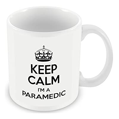 Keep Calm I'm a Paramedic (White) Mug
