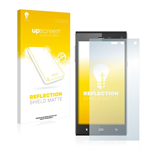 upscreen Matt Schutzfolie für Phicomm Passion P660 - Entspiegelt, Anti-Reflex, Anti-Fingerprint