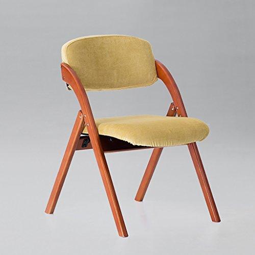 Chair QL Klappstühlen Restaurant Kaffee Stuhl Massivholz Klappstuhl Rückenlehne Kreativ Esszimmerstuhl Nordic Dining Stuhl waschbar Restaurant Klappstühle (Farbe : 6)