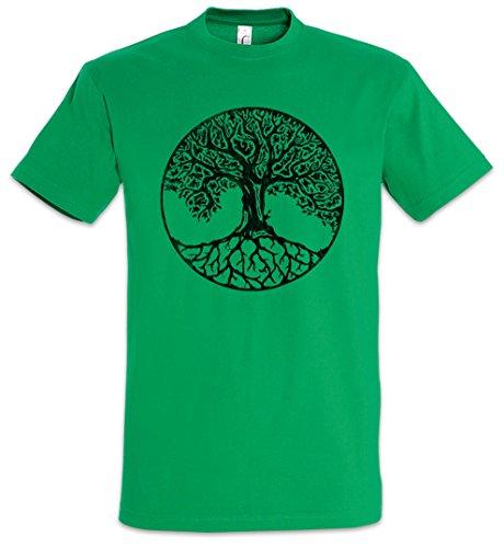 Yggdrasil VII Herren T-Shirt Arsen Celtic Irminsul Tree Loki of Life of Thor Odin Odhin Life