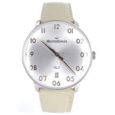 MeisterSinger NEF201G - Reloj color negro