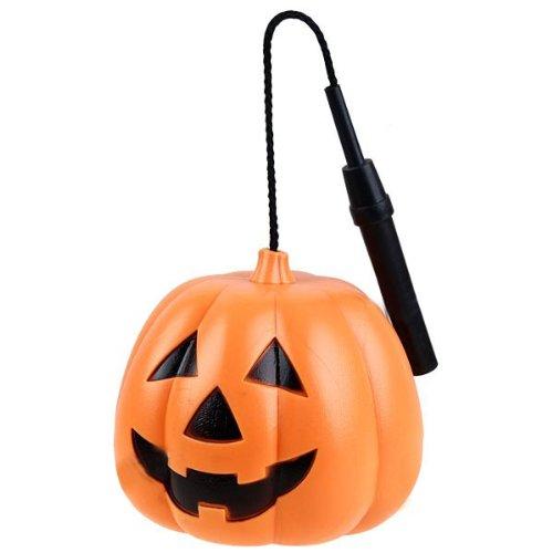 Kostüm Thema Eine Partei - FENICAL Halloween-lächelnder Kürbis-Gesichts-leuchtender Seil-Lichter-Laternen-Plastikgriff für Thema-Partei