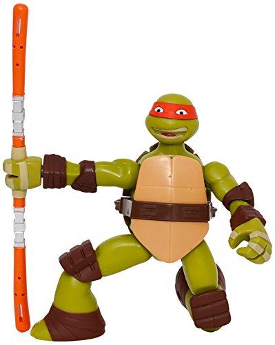 Giochi Preziosi - Turtles Personaggio Ninja Action Michelangelo