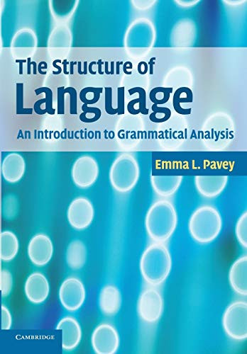 The Structure of Language Paperback