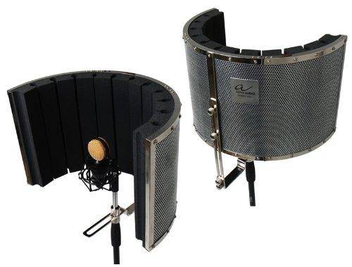 Alpha Audio Ambient Filter,Geräuschfilter,Reflexion Filter,Diffusor, Absorber,reduziert Geräusche bei Mikrofonaufnahmen,Monatage am Mikrofonstativ,für Studio und Live,für Gesang und Sprache