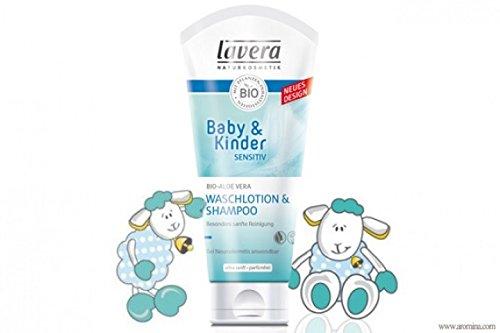 Lavera Baby & bambini Neutral Lozione Detergente & Shampoo 200ml