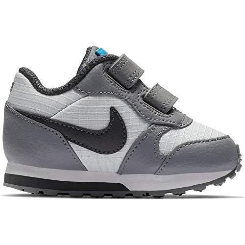 Nike Jungen Md Runner 2 (TDV) Leichtathletikschuhe, Mehrfarbig (Pure Platinum/Anthracite/Cool Grey 015), 26 EU