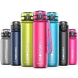 Proworks Bottiglia Acqua a Prova di Perdita | Pallone Sport Scorrimento Ideale per Corsa, Ciclismo & Escursionismo | Bottiglia per Bibite in Plastica Tritan Senza BPA - 0,5 Litri (18 Once) - Rosa