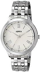 (CERTIFIED REFURBISHED) Aspen Workwear Analog Silver Dial Mens Watch - AM0048
