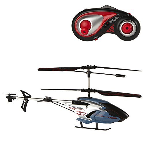 Sky Rover - Remote Control Helicopter of 6 Tracks and 3 Channels, Exploiter - 48 x 33 x 21 cm (ColorBaby 41845)