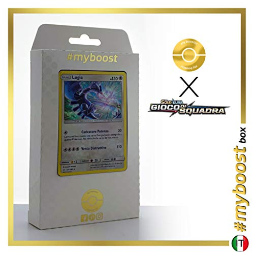 #myboost X Sole E Luna 9 Gioco di Squadra - Box mit 10 Italienische Pokémon-Karten ()
