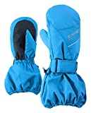 Ziener Kinder LOMODI AS(R) Mitten Glove junior Handschuhe, Persian Blue, 98cm
