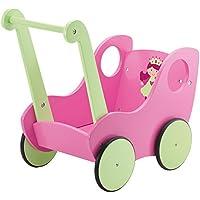 Babypuppen & Zubehör Puppen & Zubehör dolls holzwagen mit der bude 50 x 49 x 33cm Puppenwagen holz
