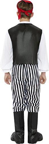 Imagen de smiffy's 25761m  disfraz de pirata para niño, talla m 7  9 años , 130 143 cm alternativa