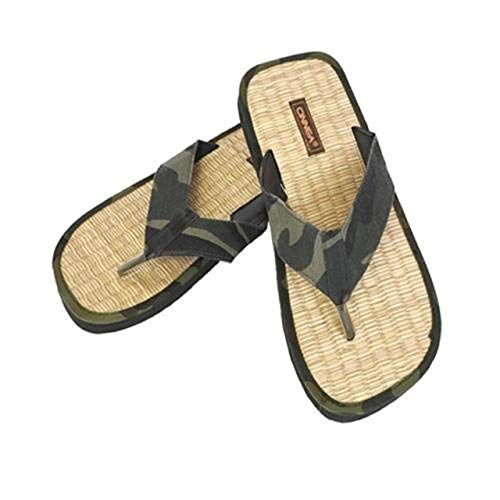 CINNEA Zimt-Dianette Army Gr. 36/37-46/47 30022 Pantoletten Sandalen Flip-Flops, Größe:44/45 - ca. 28.5 cm