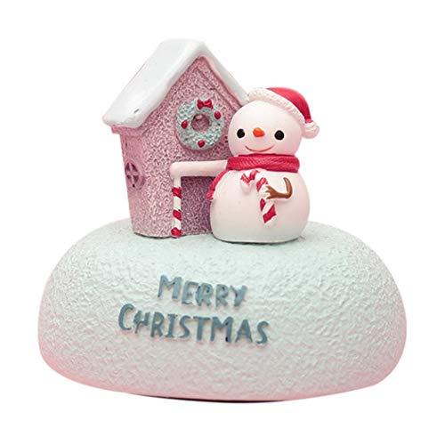 Carillon sveglia casetta di Babbo Natale