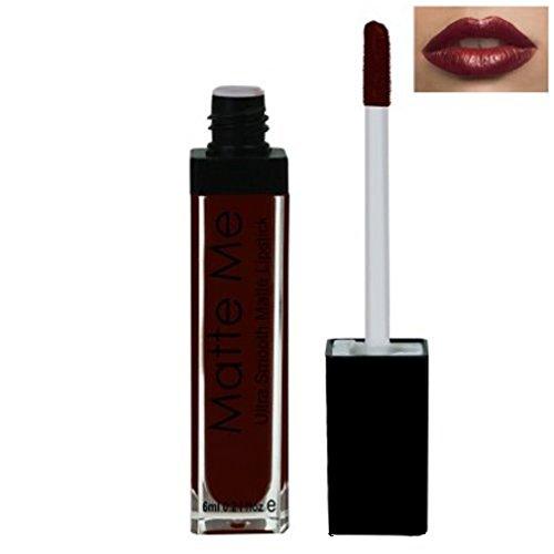 ADS Matte Me Ultra Smooth Lip Cream (Dark Purple, 424)