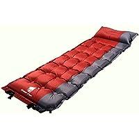 GEERTOP Esterillas auto-inflables Colchoneta Automático Portátil Ligero 5cm de grosor Para Dormir de acampada Senderismo Camping al Aire Libre (Rojo)