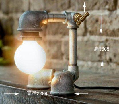 DZXYA Retrò tubi creative lampade robot ristorante