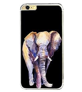 Elephant 2D Hard Polycarbonate Designer Back Case Cover for Apple iPhone 6s Plus :: Apple iPhone 6s+